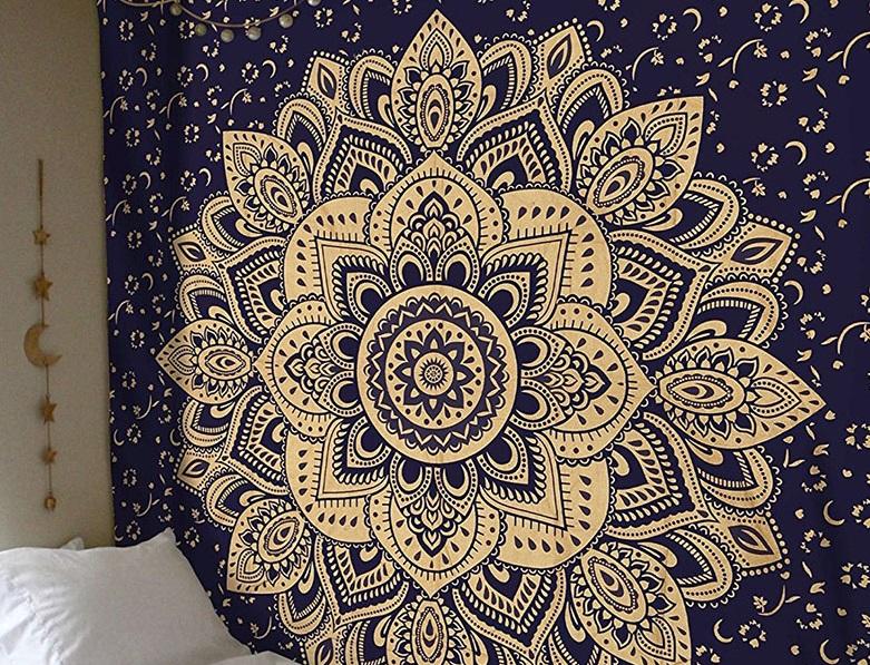 tapiz bohemio hindu