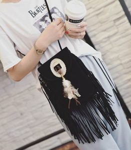 bolso hippie chic mujer