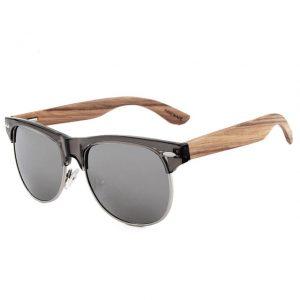 gafas de madera natural