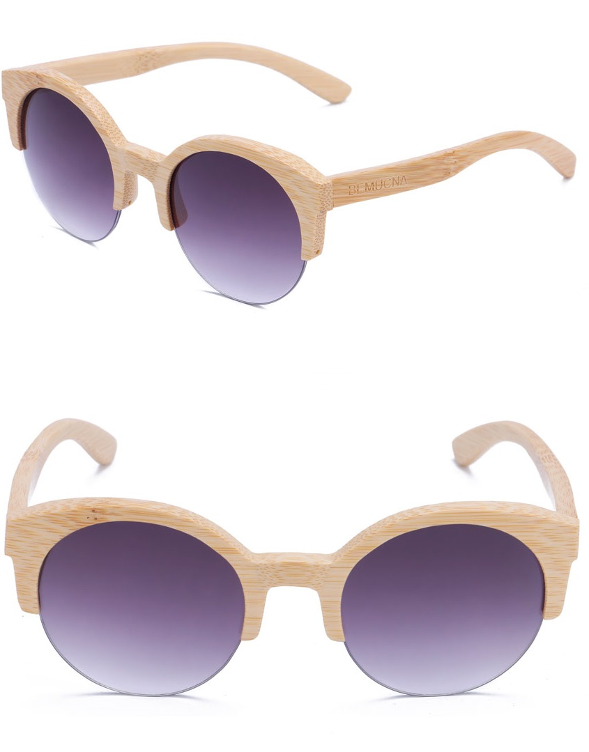 850ef28069 Tipo Gato Mujer Ojo Gafas De Y Para Madera Hombre Bambú OmN0v8wn