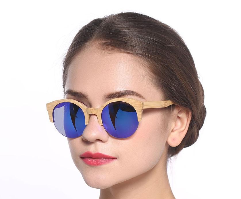 gafas de madera mujer