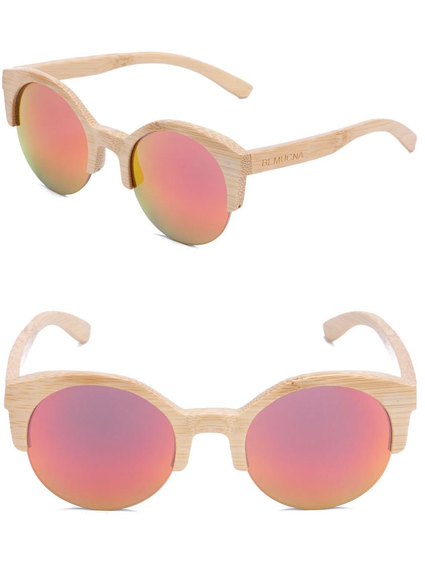 gafas de bambu