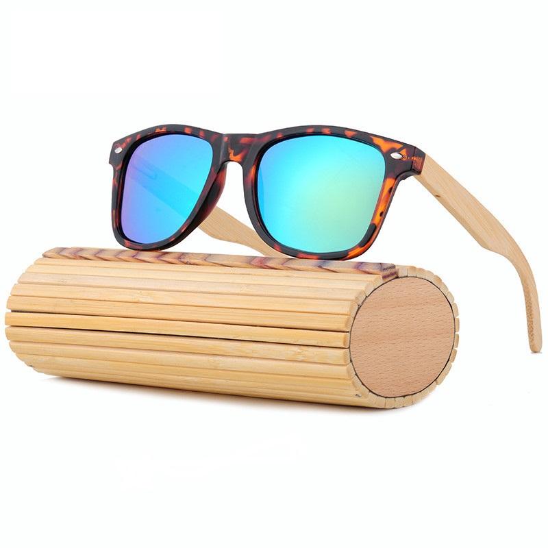 d09e575560 Lentes De Sol De Madera De Bambú Polarizados Para Hombre y Mujer ...