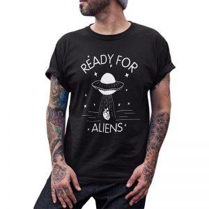 aliens t shirts black men