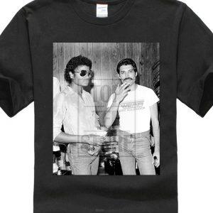 Freddy Mercury t shirt black