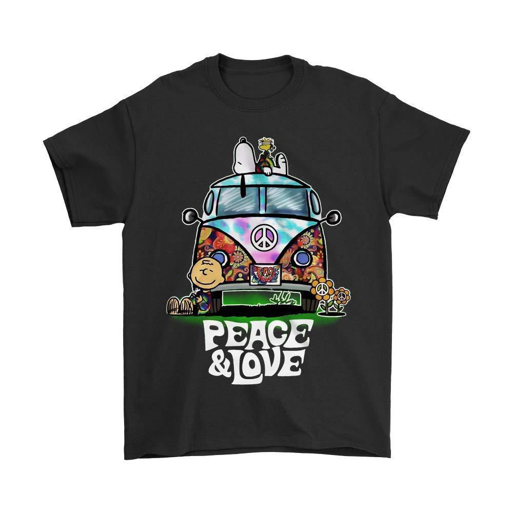 hippie t shirt volkswagen van