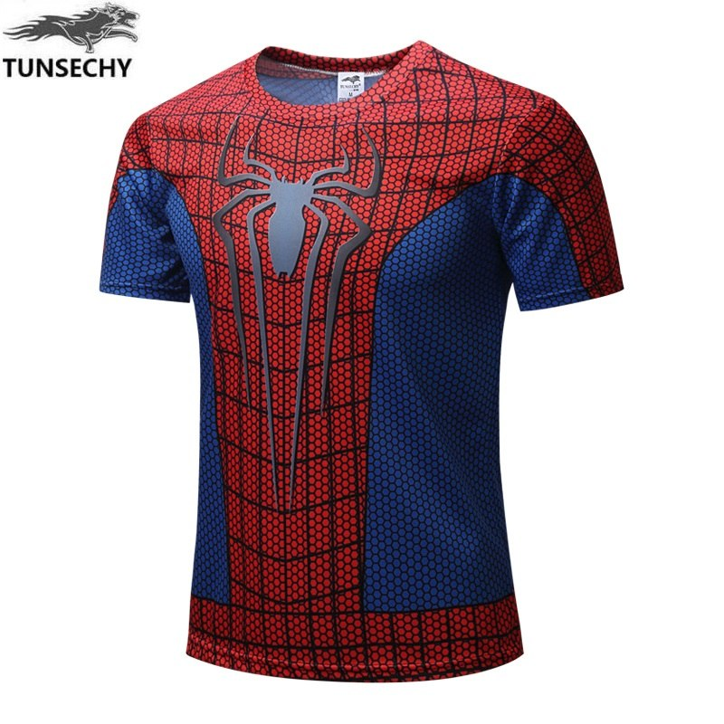 4007598c5 Spider Man T Shirts | New Fashion 2018 Fluorescent Venom T-shirt Spider Man  Skull Men T Shirt Luminous Venom Cotton Tees Tops Glow In Dark T Shirts