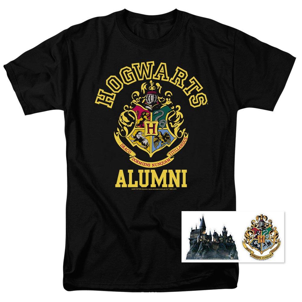 dc5c5484 T Shirt Popfunk Harry Potter Hogwarts Alumni T-Shirt Black – Boheki