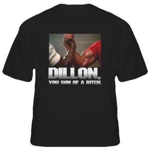fight movies blakc t shirts