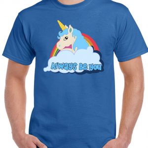 blue cartoon t shirts