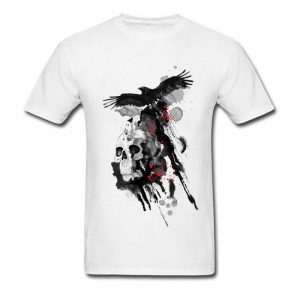 white art t shirts