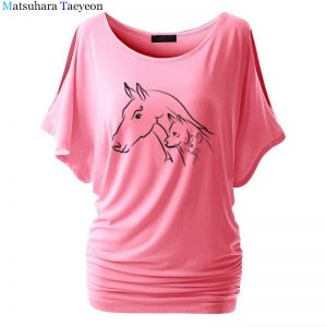 t shirts with horses on them women