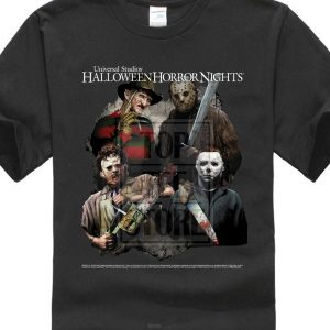 freddy krueger horror movie t shirts