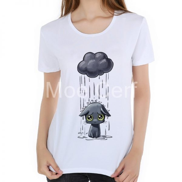 white funny t shirts for women