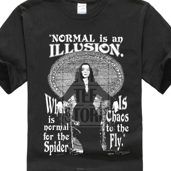 Morticia t shirts Adams family