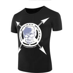 skull black t shirts