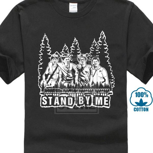 stand by me movie t shirt black