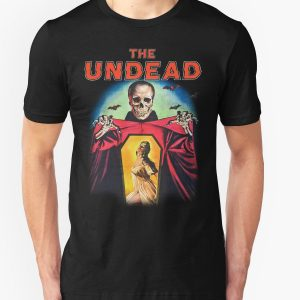black t shirts horror movies the undead