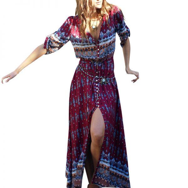 vestido boho hippie chic