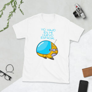 camiseta nave espacial